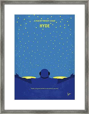 No777 My Hyde Minimal Movie Poster Framed Print by Chungkong Art