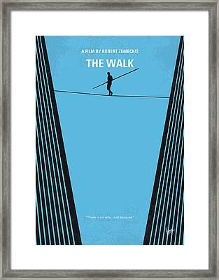 No796 My The Walk Minimal Movie Poster Framed Print