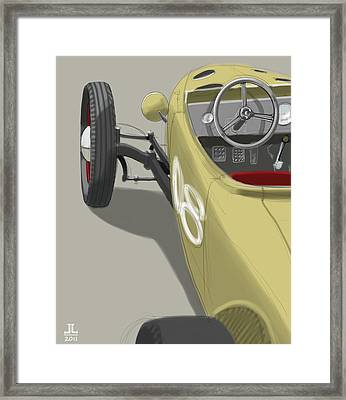 No.8 Framed Print by Jeremy Lacy