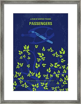 No803 My Passengers Minimal Movie Poster Framed Print by Chungkong Art