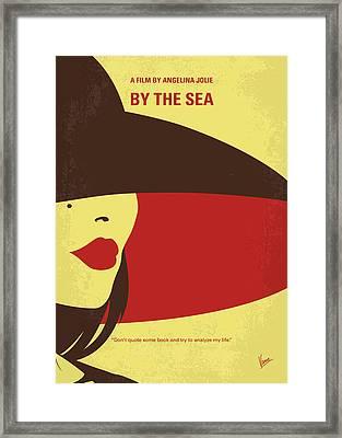 No805 My By The Sea Minimal Movie Poster Framed Print