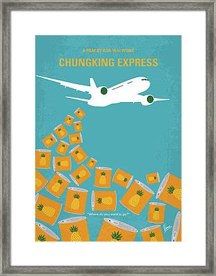 No835 My Chungking Express Minimal Movie Poster Framed Print