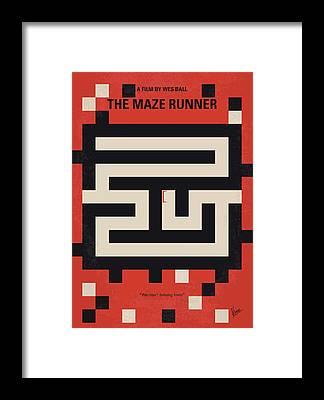 Maze Framed Prints