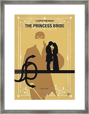 No877 My The Princess Bride Minimal Movie Poster Framed Print