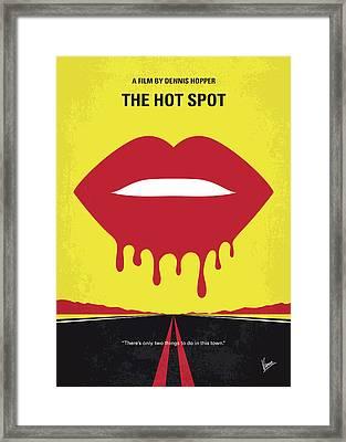 No908 My The Hot Spot Minimal Movie Poster Framed Print