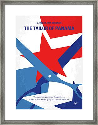 No923 My The Tailor Of Panama Minimal Movie Poster Framed Print