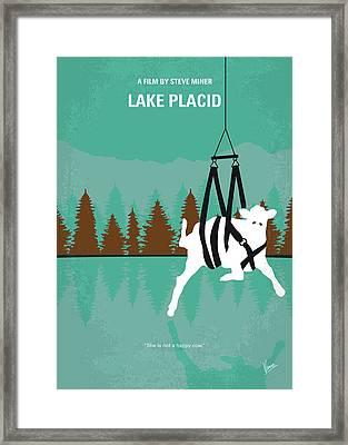 No944 My Lake Placid Minimal Movie Poster Framed Print