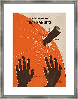 No956 My Time Bandits Minimal Movie Poster Framed Print