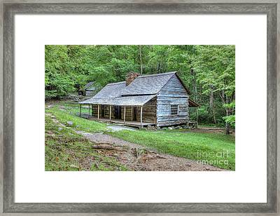 Noah Bud Ogle Homestead 556 Framed Print by Maria Struss