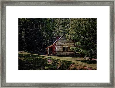 Noah Ogle - Cabin Framed Print by Nikolyn McDonald