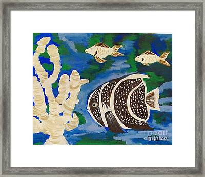 Noah's Aquarium Framed Print by Marsha Heiken