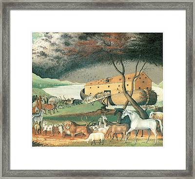 Noah's Ark Framed Print by Edward Hicks