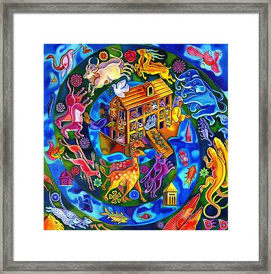 Noah's Ark Framed Print by Jane Tattersfield