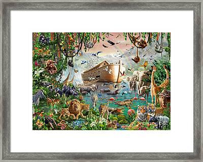 Noah's Ark Variant 1 Framed Print by MGL Meiklejohn Graphics Licensing
