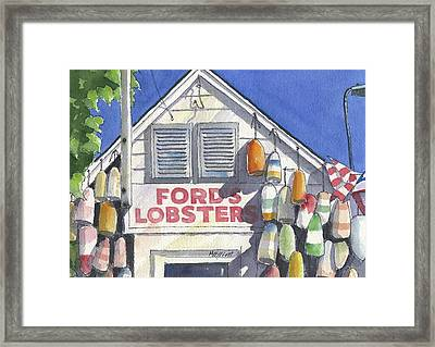 Noank Landmark Framed Print