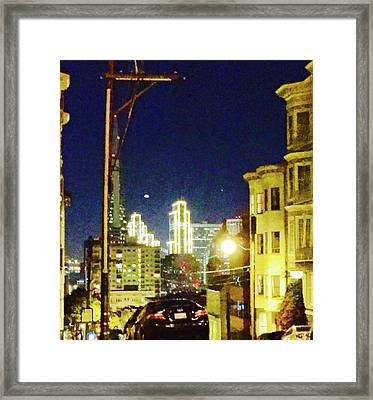 Nob Hill Electric Framed Print