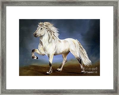 Nobility  Icelandic Horse Framed Print