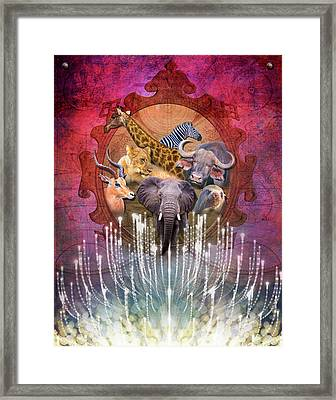 Noble Creatures Framed Print