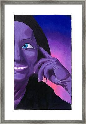 Noble Framed Print by Jasmine Payne