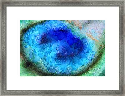 Noble Peacock Framed Print by Krissy Katsimbras