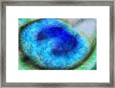 Noble Peacock Framed Print by Krissy Katsimbras