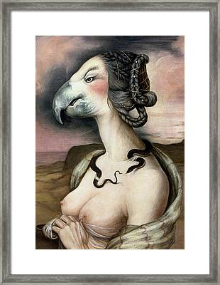 Noblesse Oblige Framed Print