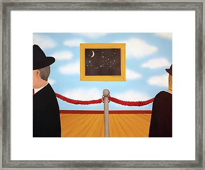 Nobody Noticed Framed Print