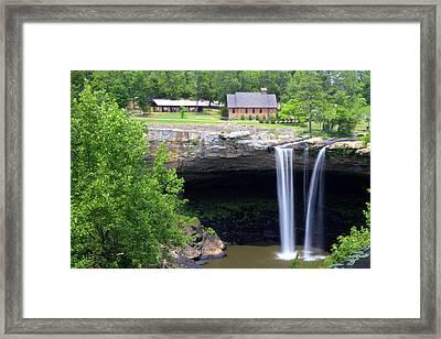 Noccolula Falls Gadsden Alabama Framed Print
