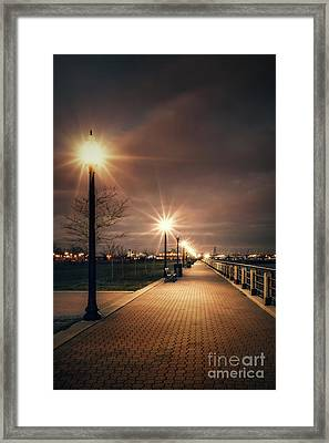 Nocturnal Framed Print by Evelina Kremsdorf