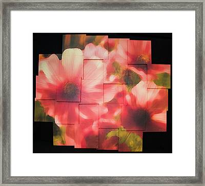 Nocturnal Pinks Photo Sculpture Framed Print