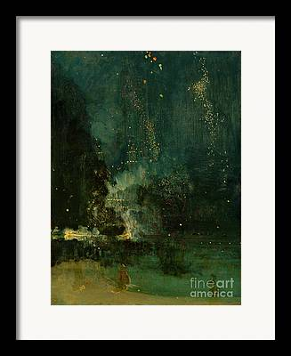 Catherine Wheel Framed Prints