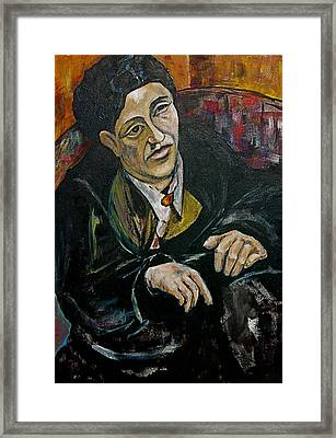 Nod To Gertrude And Picasso Framed Print by Dan Earle
