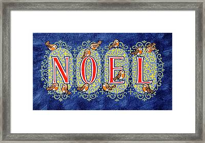 Noel Framed Print by Stanley Cooke