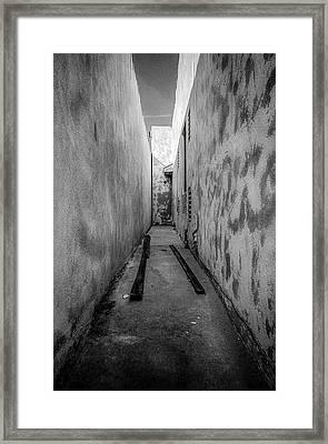 Noho Alleyway Framed Print