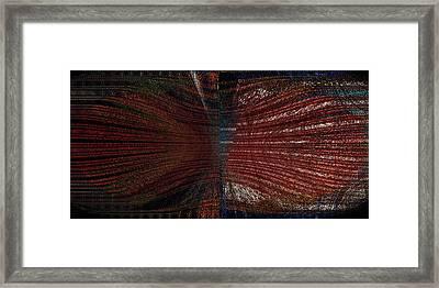 Noir Beans Framed Print by Joshua David Moore