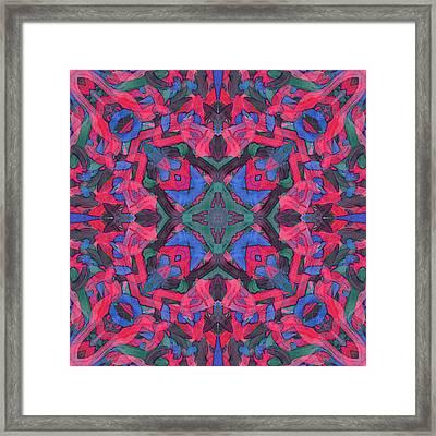 Noise Soup -pattern- Framed Print