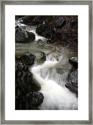 Nojoqui Falls Framed Print