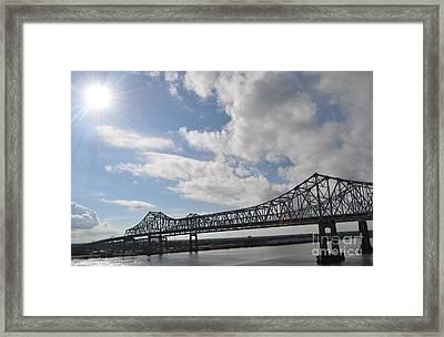 Nola Bridge Framed Print by Amanda  Sanford