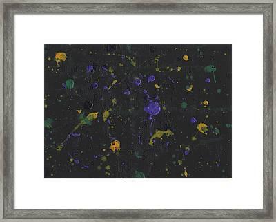 Nola Mardi Gras Framed Print