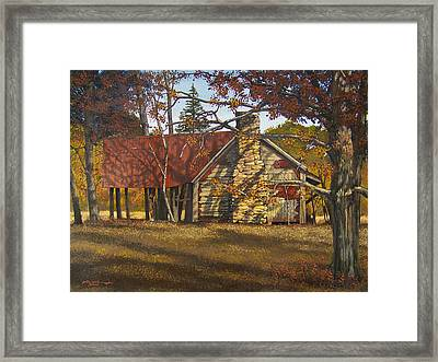 Nolan Corners Farmhouse Framed Print by Peter Muzyka