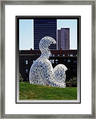 Nomade In Des Moines Framed Print