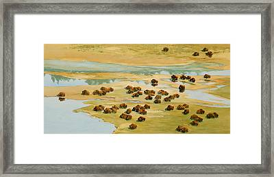 Nomads Framed Print by Thomas Sorrell