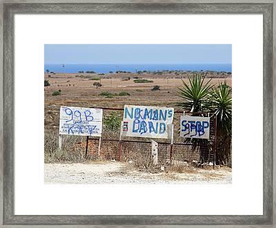 Nomans Land Framed Print