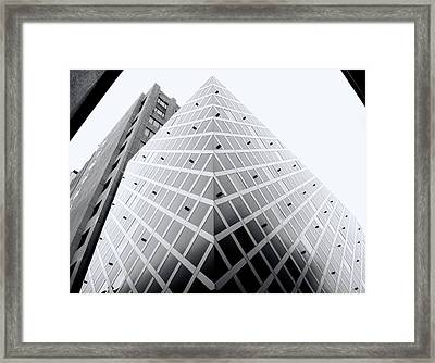 Framed Print featuring the photograph Non-pyramidal by Wayne Sherriff