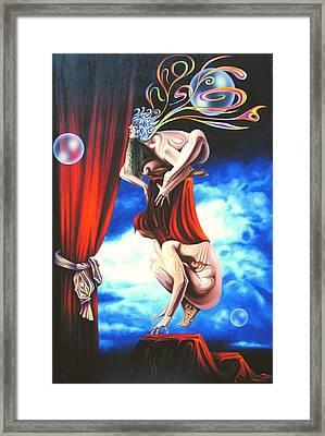 Non Traditional Kabuki Premiere. Framed Print by Tautvydas Davainis