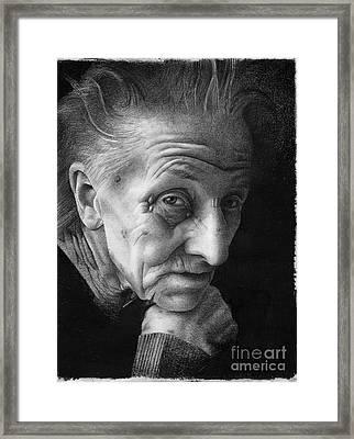 Nonna Framed Print by David Vanderpool