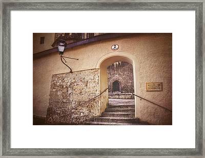 Nonnberg Abbey In Salzburg Austria  Framed Print by Carol Japp