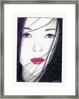 Nonya Framed Print by Julian  B