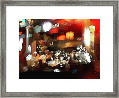 Noodle Kitchen Framed Print