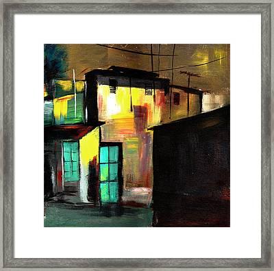 Nook Framed Print by Anil Nene